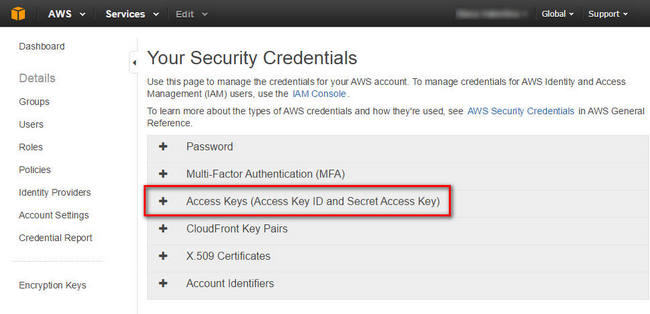 Membuat Access Key ID dan Secret Access Key di Amazon AWS | My